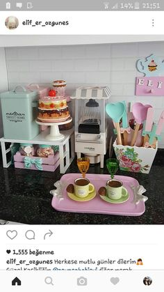 So Pretty! I must find the pastel heart spatulas for my kitchen!!