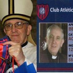SAN LORENZO: il Papa ringrazia la squadra, campione d'Argentina