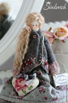 Купить Лоуренс - тильда, тильда кукла, кукла ручной работы, интерьерная кукла, для уюта