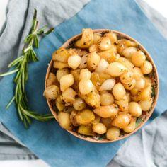 apple cider braised pearl onions