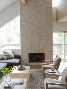 Linden Whistler home - love the arm chairs