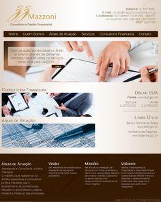 #website   Seu site com um layout exclusivo e conteúdo gerenciável. Confira as vantagens dessa tecnologia acessando: www.esgpropaganda.com.br  Cliente: http://www.mazzoniconsultoria.com.br/