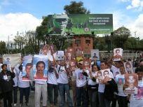 Colombie : manifestation de l'ONG le MOVICE, 2009 @Third Party