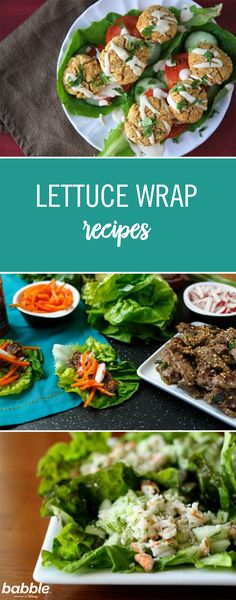 Lettuce wraps are a favorite dish of ours. They're easy to make, healthy, and so fun to eat! If you like lettuce wraps just as much, we have 11 incredibly simple recipes that take the classic lettuce wrap to a whole new level. With so many fun twists to choose from, you may be able to eat lettuce wraps all week long for any meal time. From falafel to steak variations, click for the different recipes!