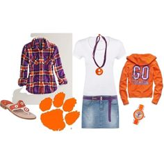 Outfit -- Clemson Tigers,