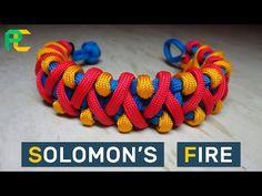 Solomon's Fire Paracord Bracelet without buckle - YouTube