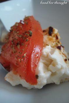 Food for thought: Μπουγιουρντί (Φέτα Ψητή) Starters, Finger Foods, Ethnic Recipes, Party, Blog, Finger Food, Parties, Blogging, Snacks