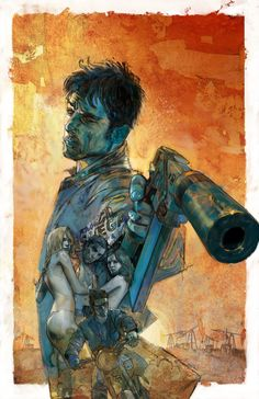 Earp Saints For Sinners Comic Book - Click Image to Close Art And Illustration, Illustrations, Comic Book Artists, Comic Artist, Comic Books Art, Marvel Comics, Comic Kunst, Fantasy Kunst, Pulp Art