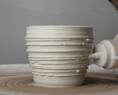 Slip Texture Hammerly Ceramics