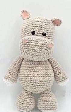 Mesmerizing Crochet an Amigurumi Rabbit Ideas. Lovely Crochet an Amigurumi Rabbit Ideas. Crochet Easter, Crochet Hippo, Crochet Amigurumi Free Patterns, Cute Crochet, Crochet Animals, Crochet Dolls, Crochet Baby, Knitting Patterns, Batman Amigurumi