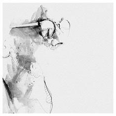 Spontaneous and Realistic Black and White Pencil Portraits – Fubiz Media