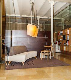 La bonita oficina de Hotelerum se encuentra en la calle Santa Teresa número 6 de Barcelona.