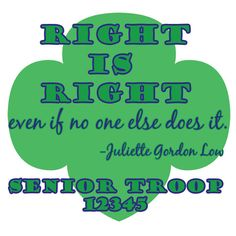 Love Juliette Gordon Low- Custom shirts for your troop $14.00-etsy