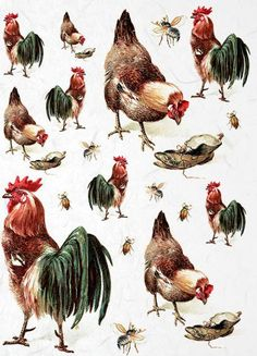 RICE DECOUPAGE PAPER / FARM 2 / CRAFT PAPER / DECOUPAGE SHEETS / SCRAPBOOKING