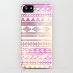 Galaxy Tribal iPhone & iPod Case by Haleyivers - $35.00