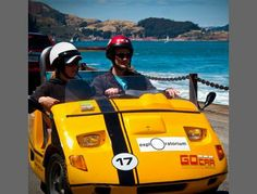 Zip around San Francisco in a mini car $58.00 #tour #SF #funsherpa