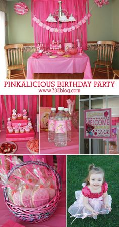 Pinkalicious Birthday Party full of easy DIY Ideas and Free Printables!
