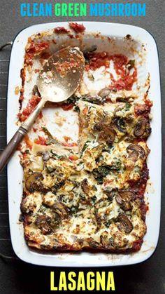 With hearty cremini mushrooms, homemade marinara, and ricotta cheese, this recipe will please a crowd while keeping them healthy.