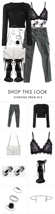 """Untitled #19835"" by florencia95 ❤ liked on Polyvore featuring Free People, Forte Forte, Yves Saint Laurent, Anine Bing, Schutz, Miss Selfridge and Humble Chic"