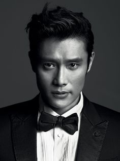 Lee Byung-Hun -- GQ Korea cover, being all kinds of dapper