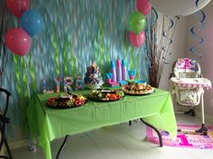 Lyra's Bubble Guppies Birthday Party :)