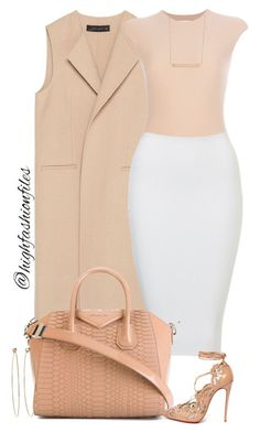 """Spring attraction"" by highfashionfiles ❤ liked on Polyvore featuring Zara, Givenchy, Christian Louboutin, Monique Péan, Dean Harris, women's clothing, women's fashion, women, female and woman"