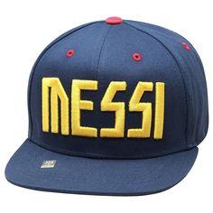 Lionel Messi Snapback Adults Mens Fc Barcelona Soccer Adjustable Cap Hat - Blue  #Rhinox #FCBarcelona
