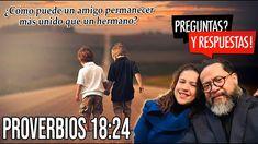 Proverbios 18:24: ¿Cómo puede un amigo permanecer más unido que un hermano? Youtube, Movies, Movie Posters, Proverbs, Sisters, Christians, Musica, Films, Film Poster