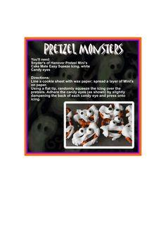 Pretzel Monsters