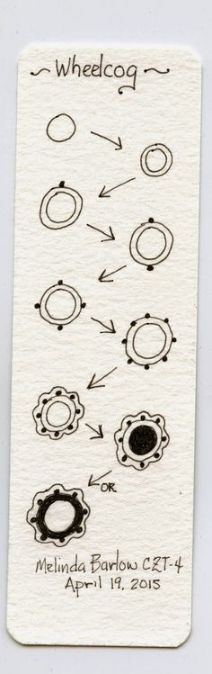 Inkidoodles and Zentangle Meets Typography