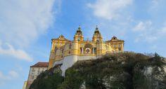 Melk Abbey, Austria; Read stories at www.whattravelwriterssay.com Wachau Valley, Travel Articles, Austria, Big Ben, Mansions, House Styles, Building, Manor Houses, Villas