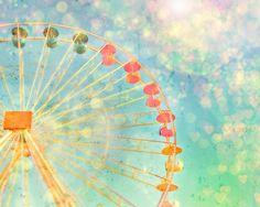 Carnival Confetti Powder Pink Teal Butter by KaleidoscopePhoto, $30.00
