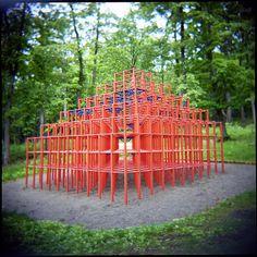 Jungle Gym   Holga 120GCFN + Kodak Portra 400VC   N_Eyes   Flickr