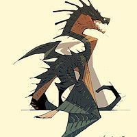 Satoshi Matsuura is creating creature and character design. Creature Drawings, Animal Drawings, Character Illustration, Illustration Art, Fantasy Creatures, Mythical Creatures, Mega Anime, Monster Characters, Monster Design