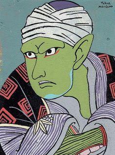 【人気キャラを浮世絵に】パリの展示会にも出展された趣のある作品(12枚) | COROBUZZ