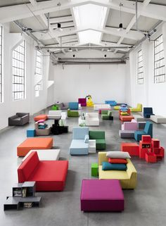 Cubit® modulares Sofa / Cubit® modular sofa / Cubit® canapé modulaire
