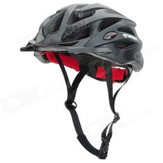 MOON MV29 Casual Outdoor Cycling Bike Helmet - Black   Red (Size L) Price: $34.16