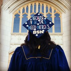 Nursing school graduation cap idea!
