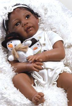 Boneca Bebê Reborn Ana Clara 51 Cm