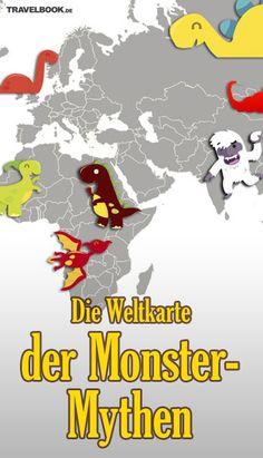 Nessie, Bigfoot, Ogopogo... Die Weltkarte der Monster-Mythen: http://www.travelbook.de/welt/Monstermap-Monster-Mythen-aus-aller-Welt-504575.html