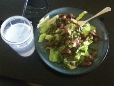 Omni Phase 2 approved  4oz Steak salad with asparagus (4oz) and homemade lemonade