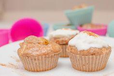 Fit Veronika: Skořicové muffiny s kousky jablek