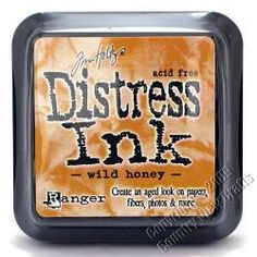 Ranger Tim Holtz® Distress Ink Pad - Wild Honey