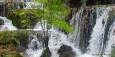 Waterfall. Orbaneja del Castillo. Burgos. Spain.