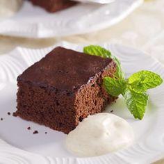 Chocolate-Cinnamon Sheet Cake