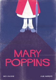 "Mary Poppins Poster ""That's a piecrust promise. Easily made, easily broken. """