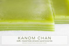 Khanom Chan ขนมชั้น