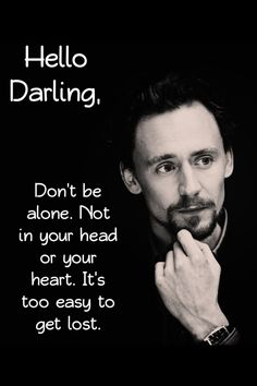 Tom Hiddleston: Hello Darling...