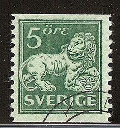 Sweden 5ö Lion [F 140Acx]