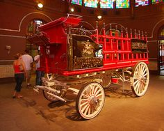 Budweiser Clydesdales Wagon
